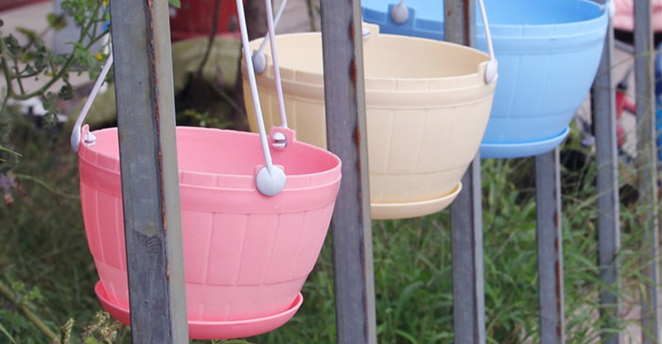 Hanging pot nursery pot